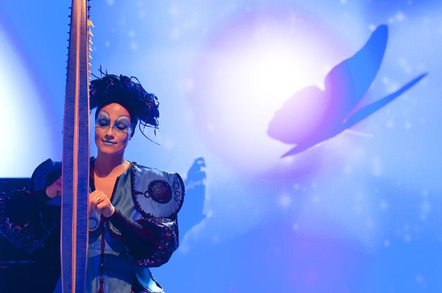 Circus act boeken De Ballerina