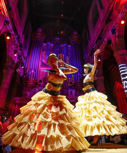 Dansers danseressen