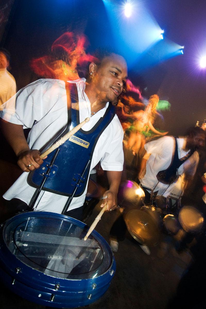 Zuid Amerikaans Rhythm en Brass band