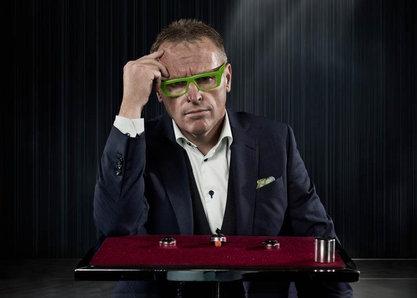 magician goochelaar persfoto