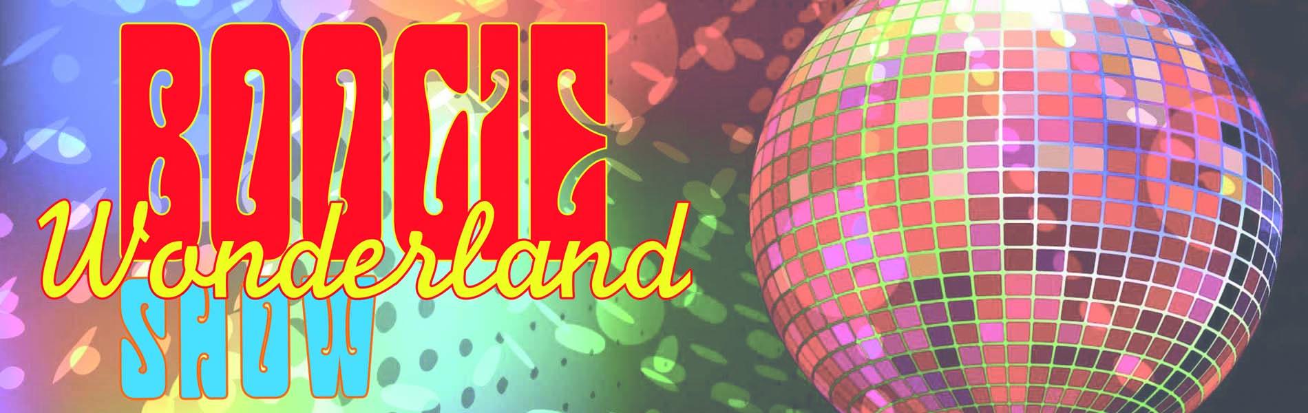 boogie wonderland show banner