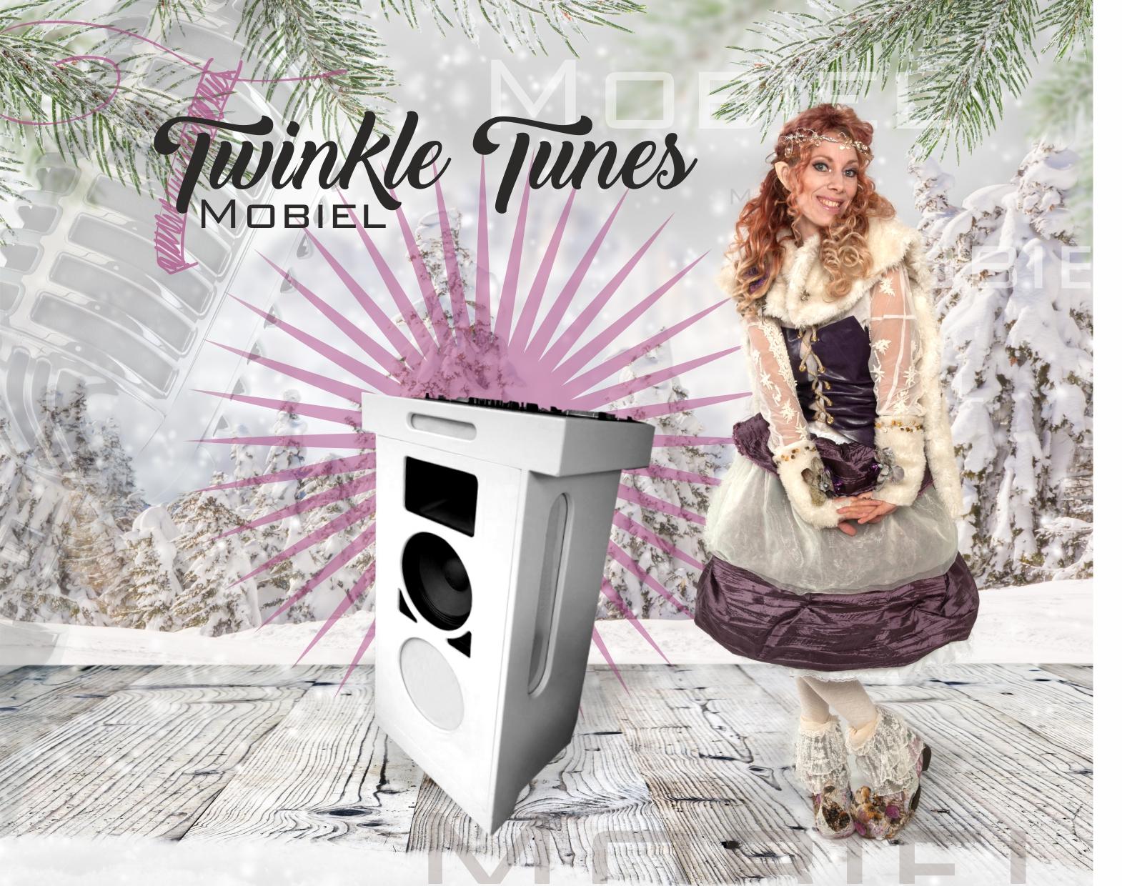 Kerstact Mobiele DJ Twinkle Tunes HEADE