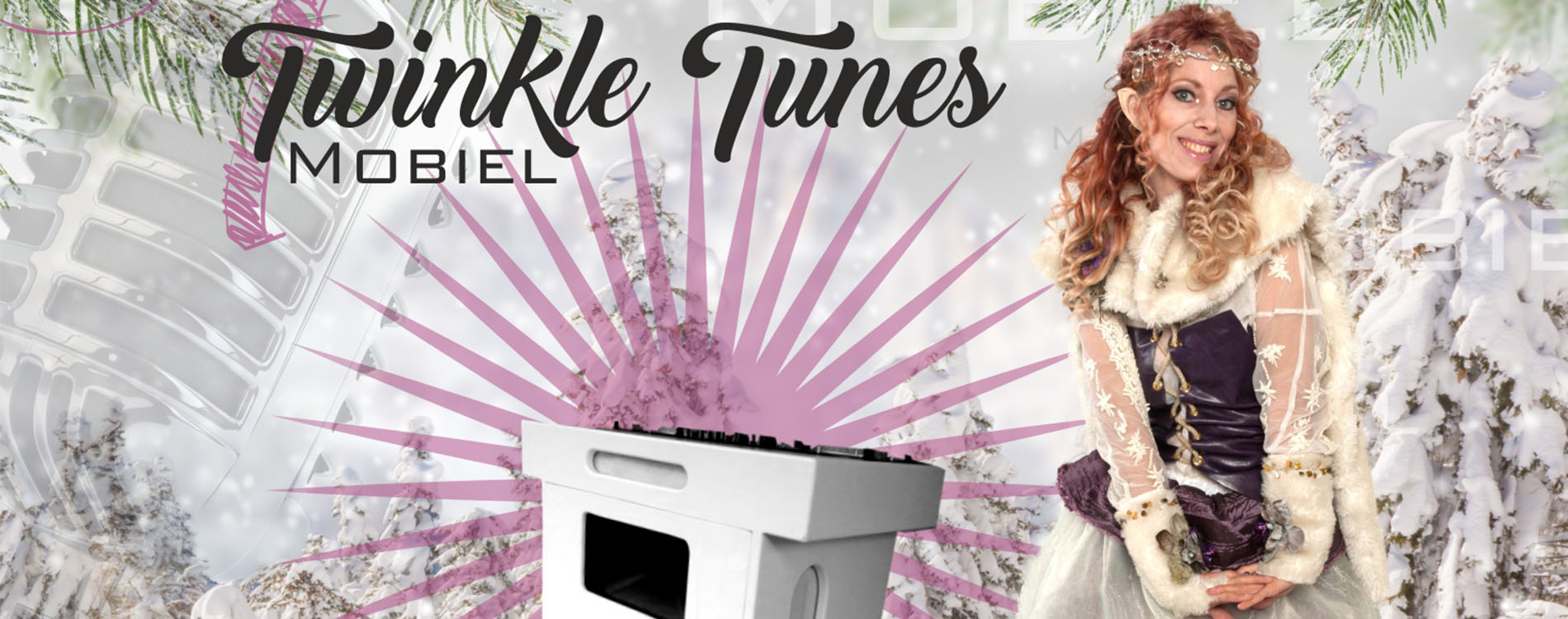 Kerstact Mobiele DJ Twinkle Tunes