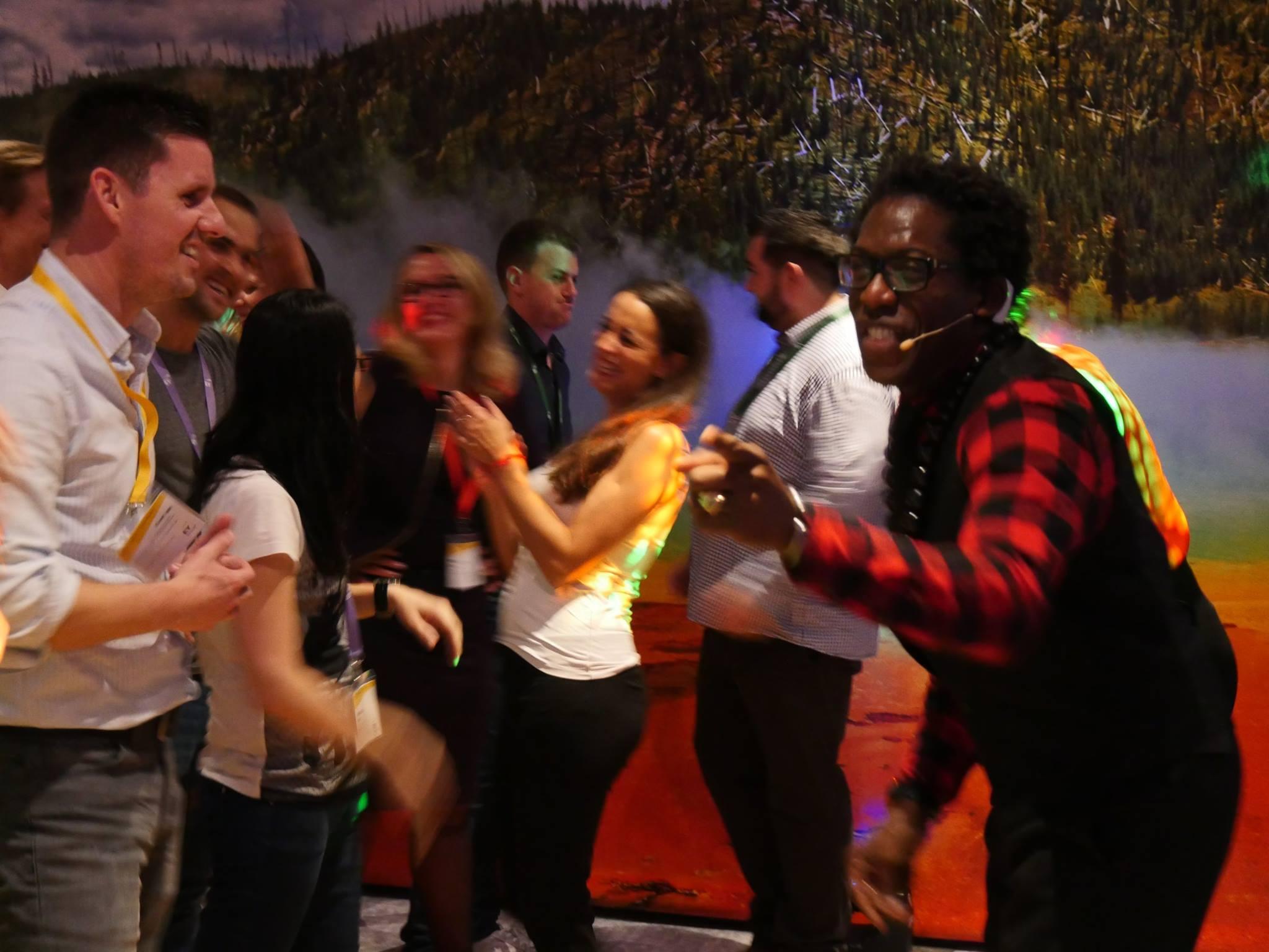 salsa workshop show