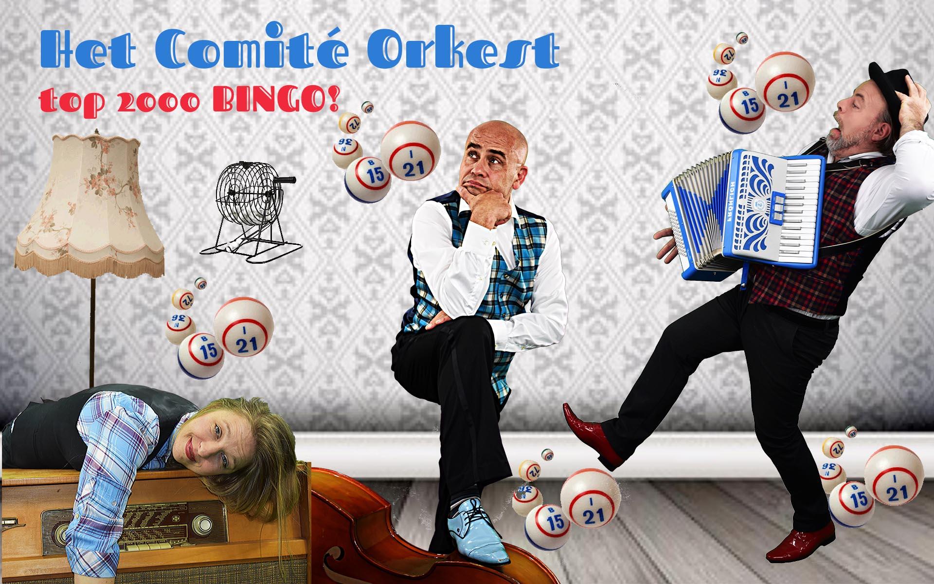 het comite orkest leuke persfoto muzikaal trio