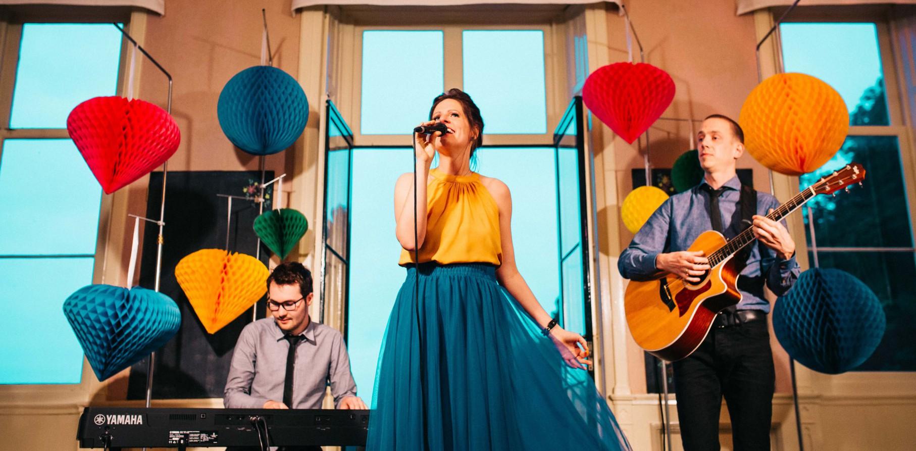 muzikaal trio persfoto