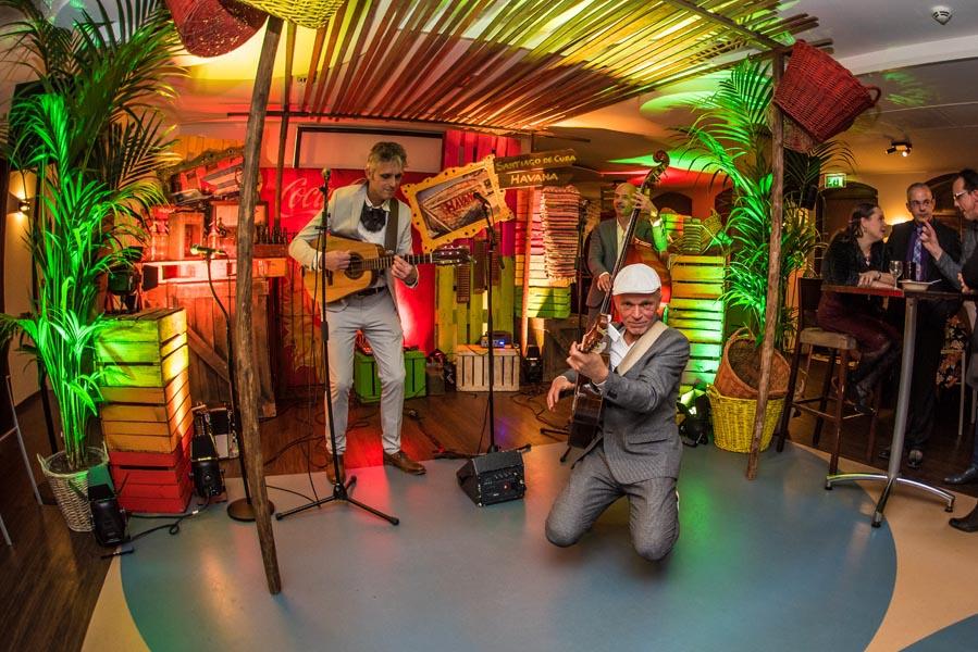 Cuata zuidamerikaans trio live muziek