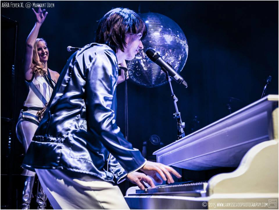 Abba tribute band pianist en zangeres