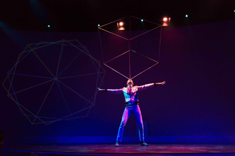 jongleur in actie