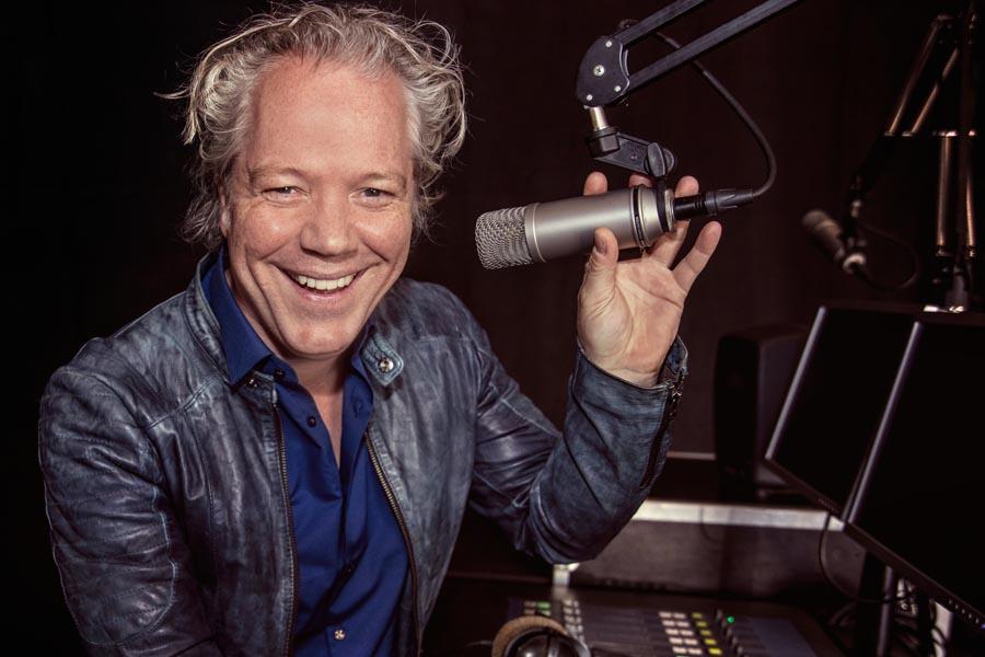 Radio Show op locatie met Rene Peters
