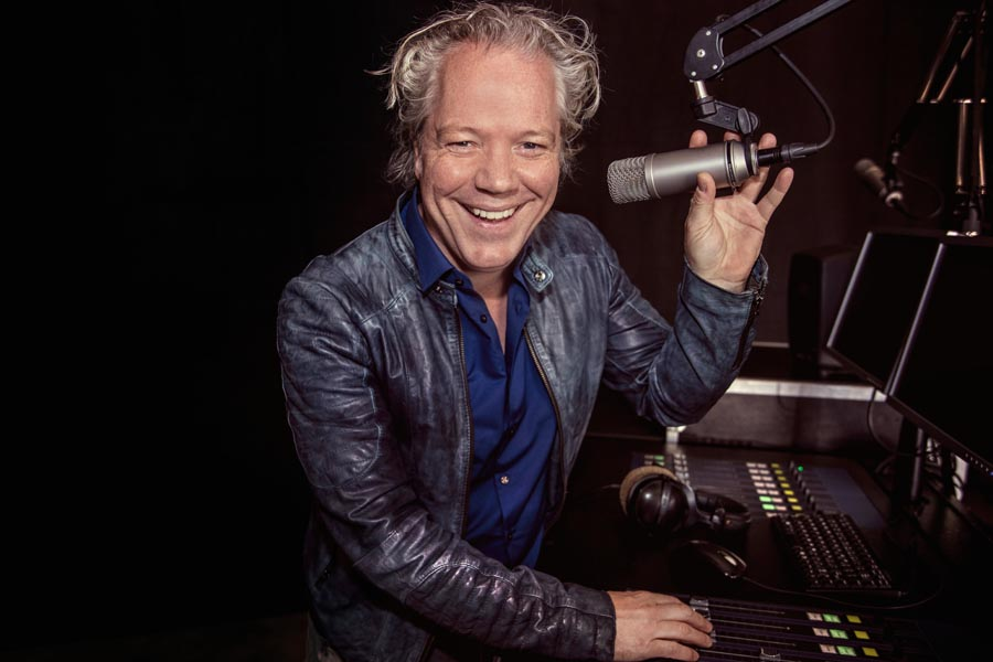 Radio Show opnames met Rene Peters