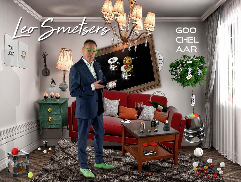 ADH2, Leo Smetsers goochelaar in woonkamer