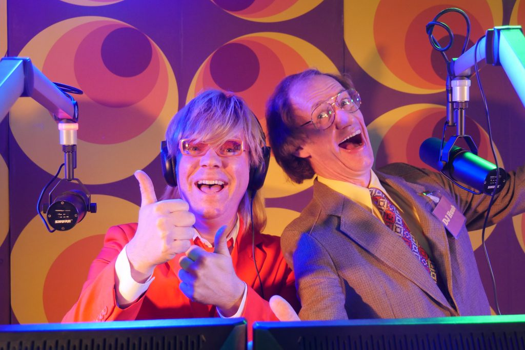radio show huub hangop en bennie solo