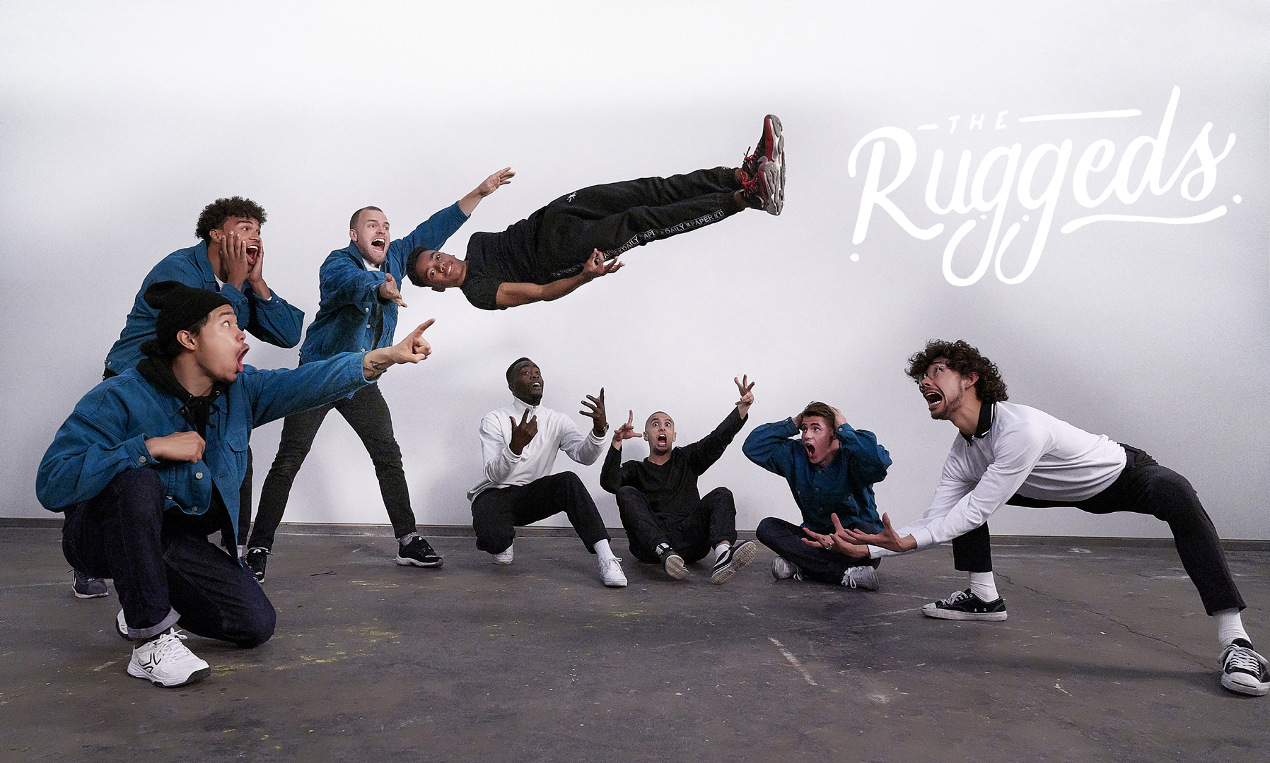 The Ruggeds breakdance crew