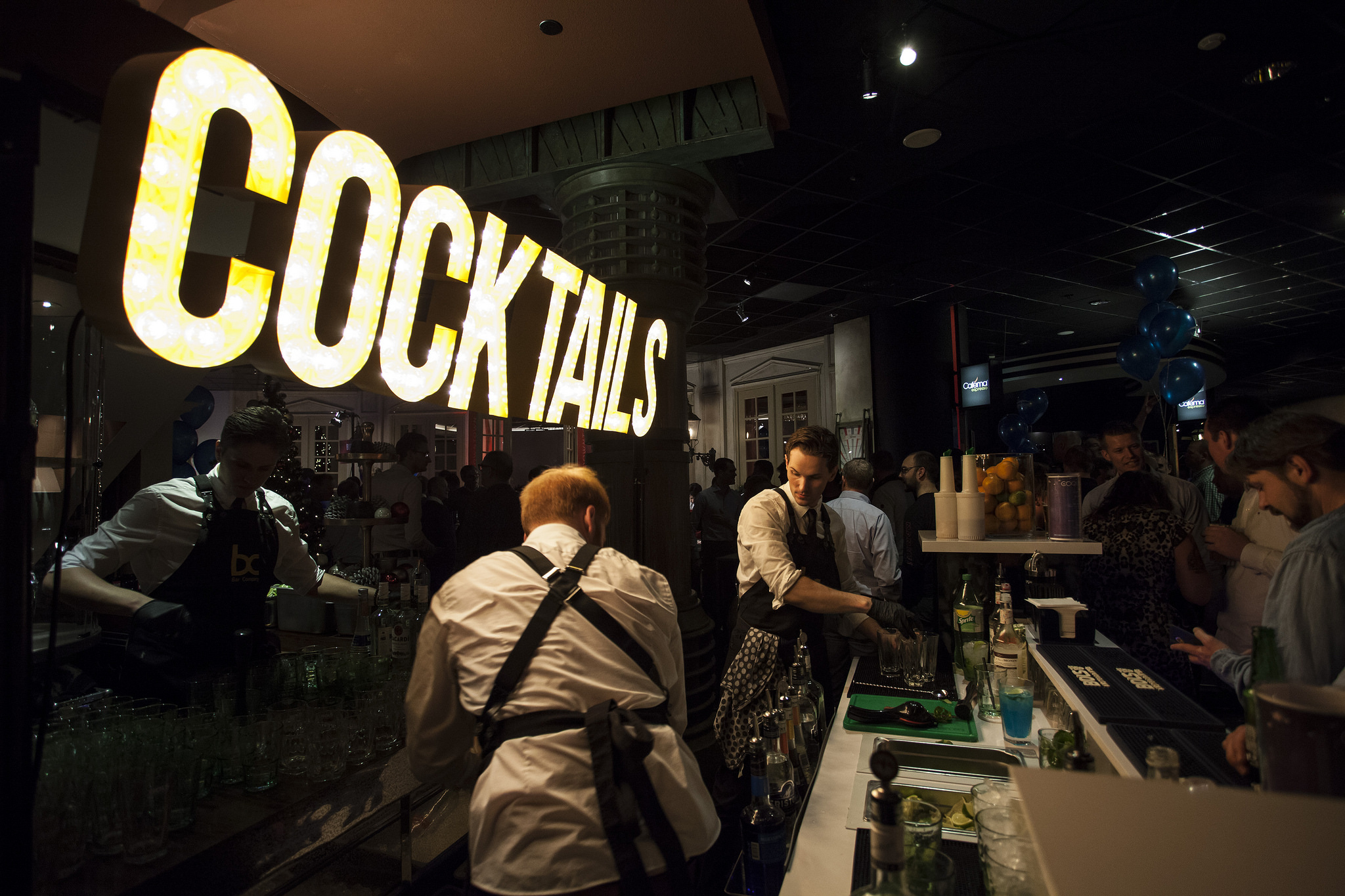 Huur een cocktail bar in Gatsby stijl