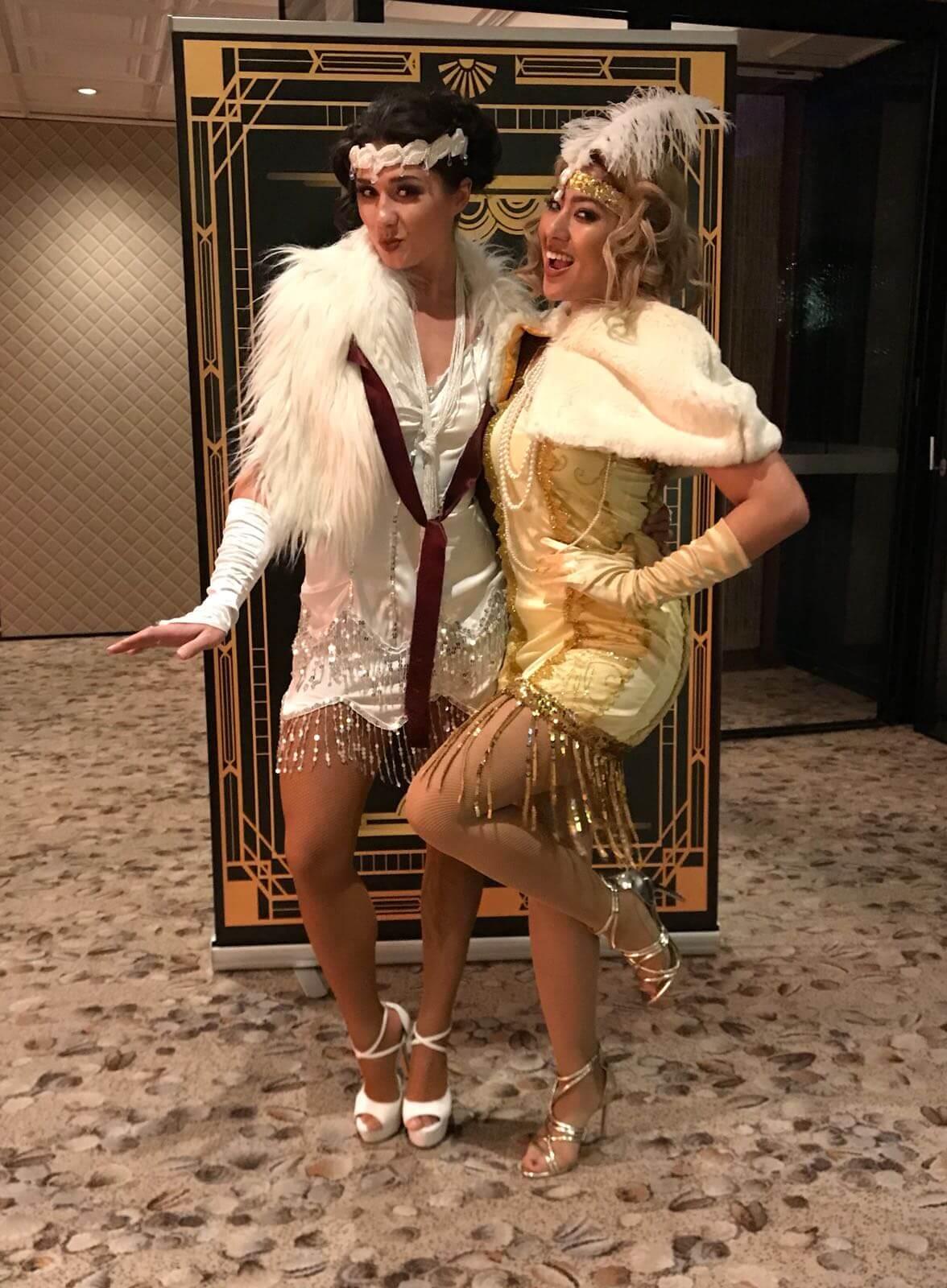 Danseressen in Gatsby thema