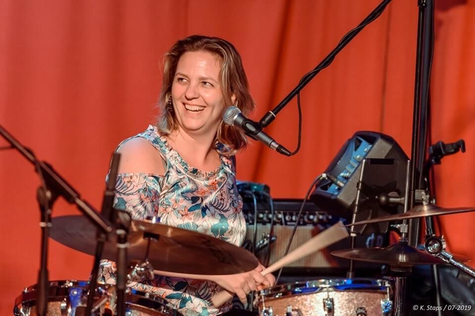 drumster Janneke van Tr3at