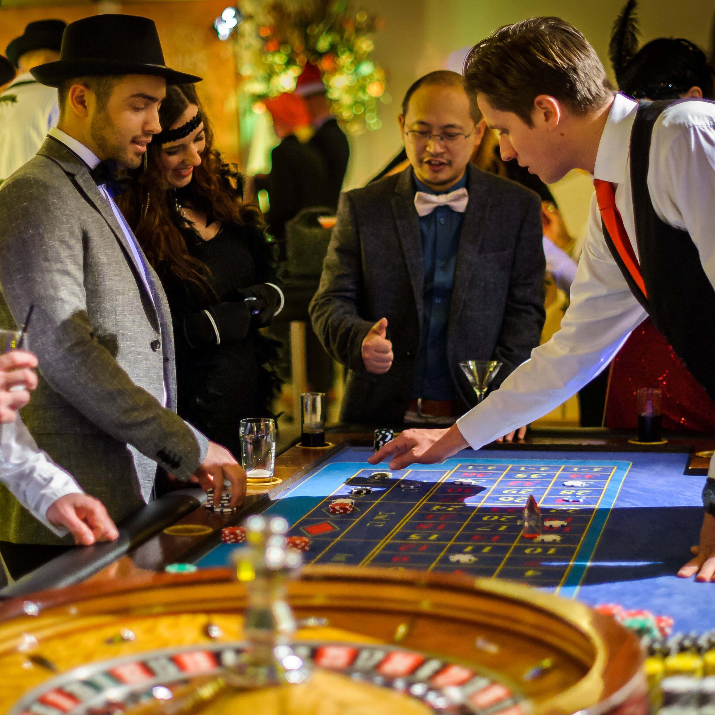 Casino op locatie roulette Gatsby stijl