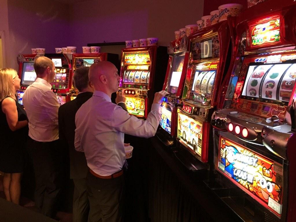 Casino op locatie slotmachines