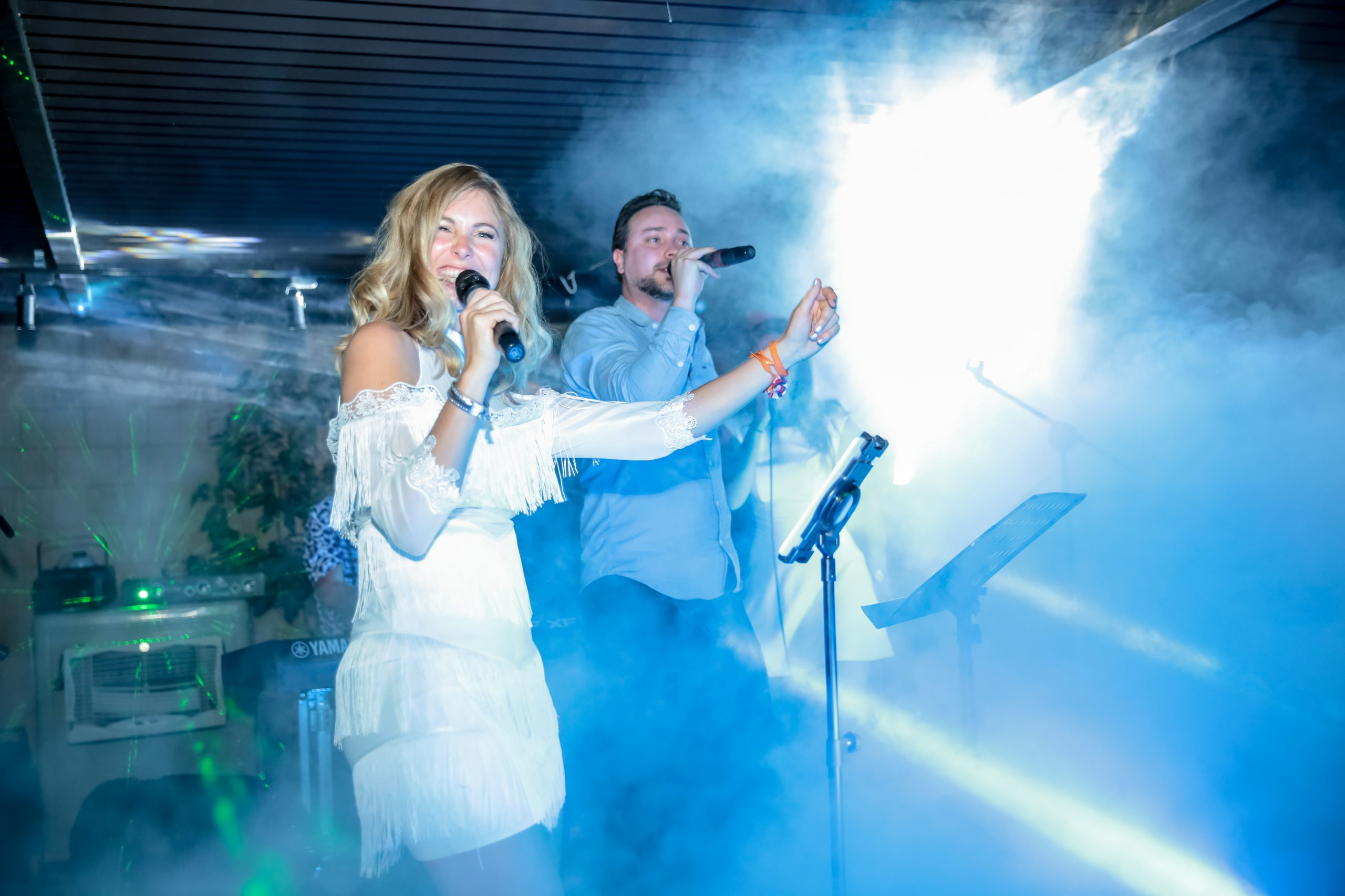 Rosanne de With met zanger
