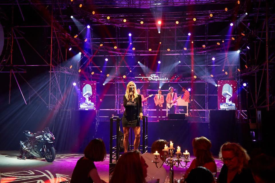 Rosanne de With optreden gala