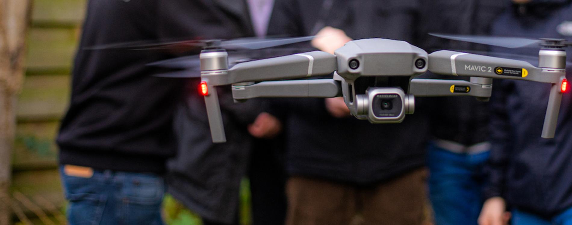 Zwevende drone